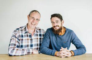 Peter Brück en Manuel ter Voert zoek op regio